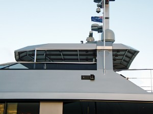 powerboat cockpit awning cover