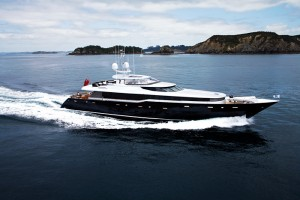 superyacht cruising new zealand