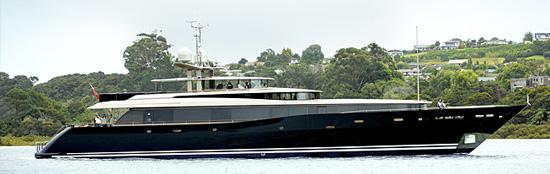 AY43 Loretta Anne luxury motoryacht exterior marine covers