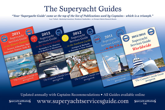 superyacht services guide book 2012 to 2013