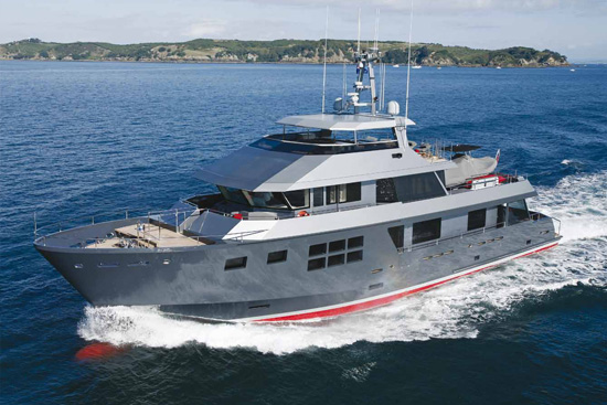 alloy yachts vsv1 motoryacht refitted in new zealand